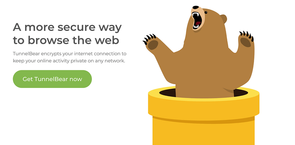 TunnelBear Free VPN Feature List - Best Free VPN